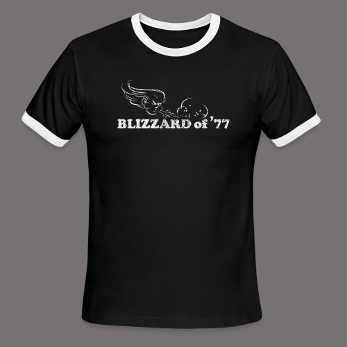 Blizzard of 77 - Men's Ringer T-Shirt