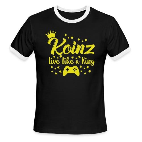 Live Like A King - Men's Ringer T-Shirt