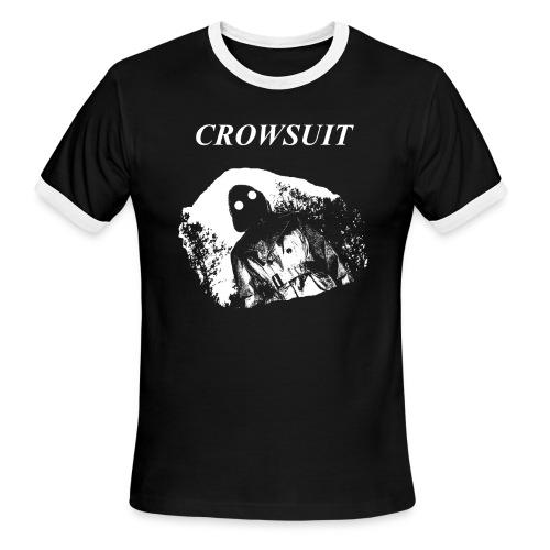 Crowsuit: V1 Logo - Men's Ringer T-Shirt
