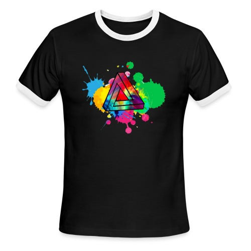 PAINT SPLASH - Men's Ringer T-Shirt