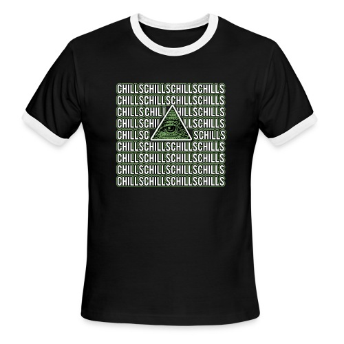 Illuminati Chills - Men's Ringer T-Shirt