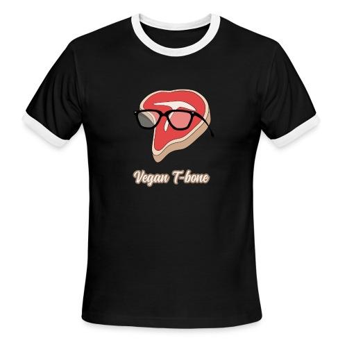 Vegan T bone - Men's Ringer T-Shirt