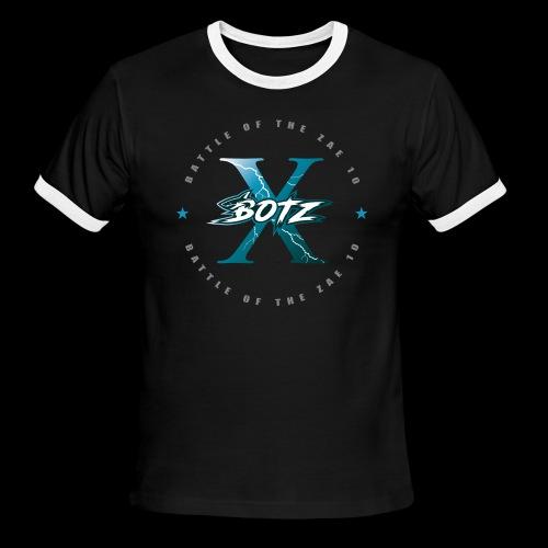 BOTZ X Circle Logo - Men's Ringer T-Shirt