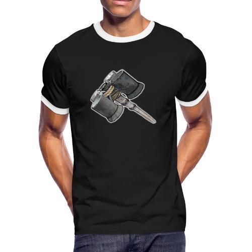 Weaponized Junk Mod - Men's Ringer T-Shirt