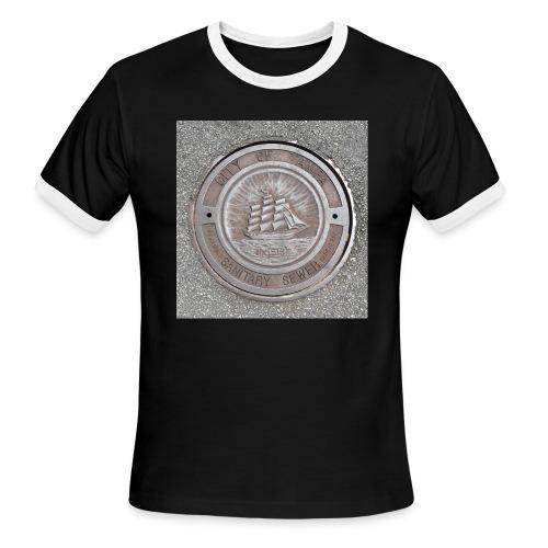 Sewer Tee - Men's Ringer T-Shirt