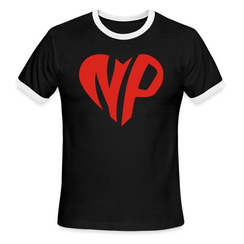 np heart - Men's Ringer T-Shirt