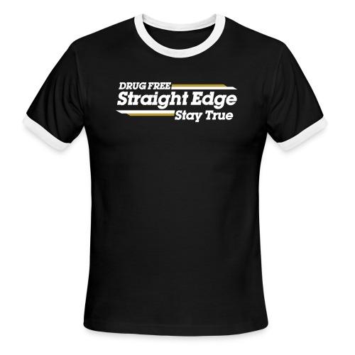 Straight Edge Winston - Men's Ringer T-Shirt