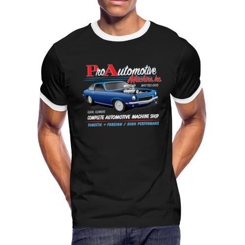 ProAutoTeeDesign062317fin - Men's Ringer T-Shirt