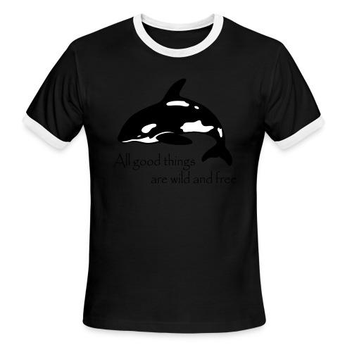 End Captivity - Men's Ringer T-Shirt