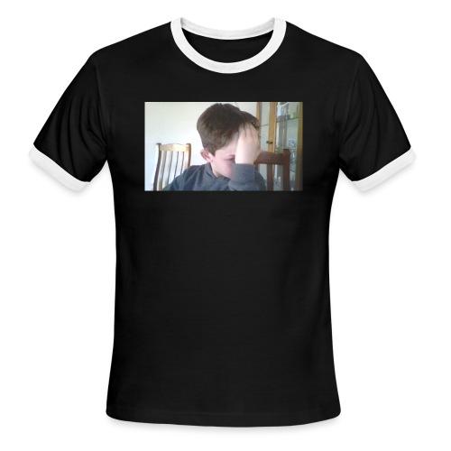 Luiz FAce!! - Men's Ringer T-Shirt