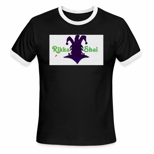 Rikka Shai Electric Logo - Men's Ringer T-Shirt