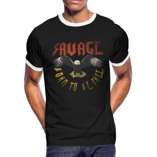 vintage eagle - Men's Ringer T-Shirt