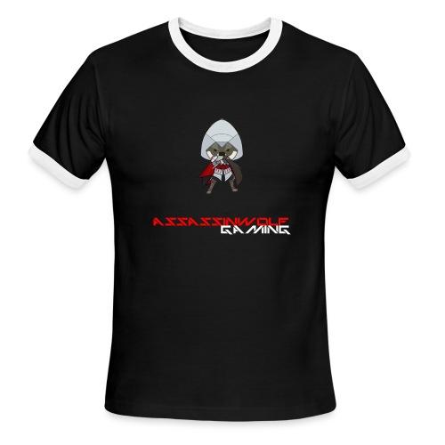 heather gray assassinwolf Tee - Men's Ringer T-Shirt