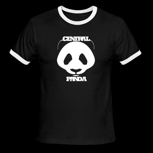 Central Panda - Men's Ringer T-Shirt