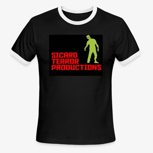 Sicard Terror Productions Merchandise - Men's Ringer T-Shirt