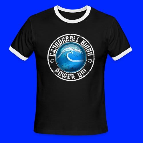 Vintage Tsunami Power-Up Tee - Men's Ringer T-Shirt