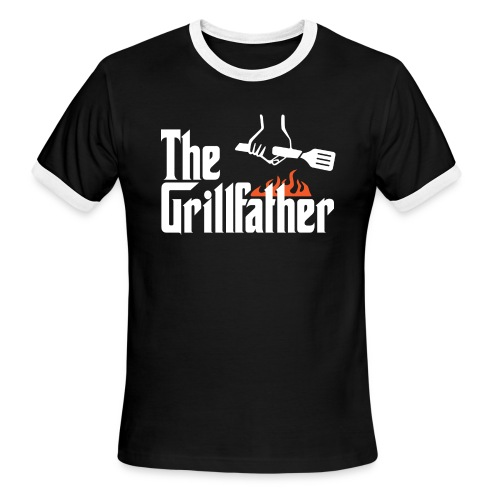 The Grillfather - Men's Ringer T-Shirt