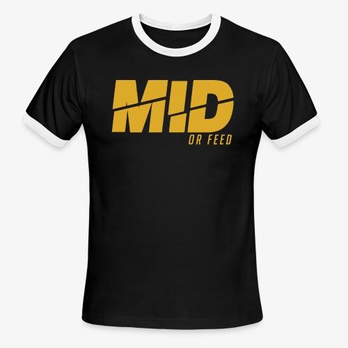 SPREADSHIRT TEMPLATE88888888 - Men's Ringer T-Shirt