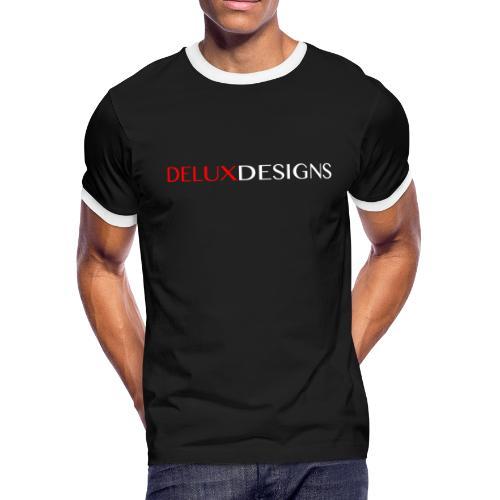 Delux Designs (white) - Men's Ringer T-Shirt