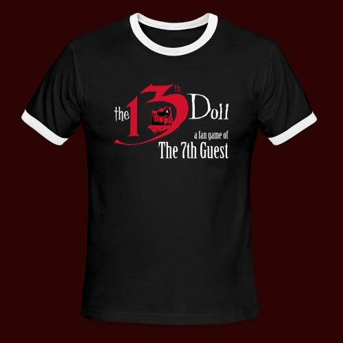 The 13th Doll Logo - Men's Ringer T-Shirt