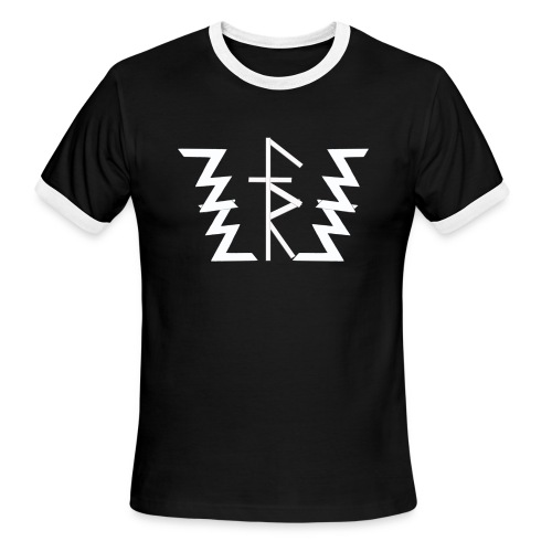 Faith Runnerz Tee Logo - Men's Ringer T-Shirt