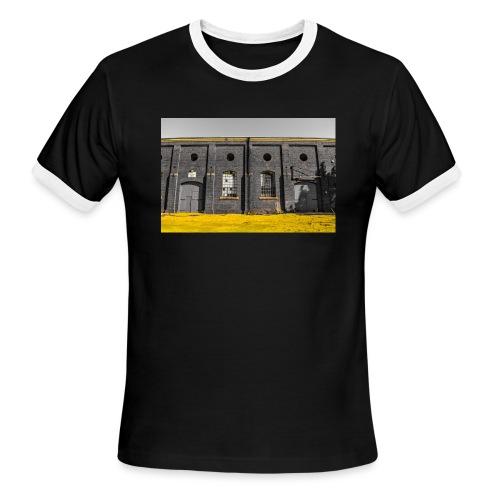 Bricks: who worked here - Men's Ringer T-Shirt