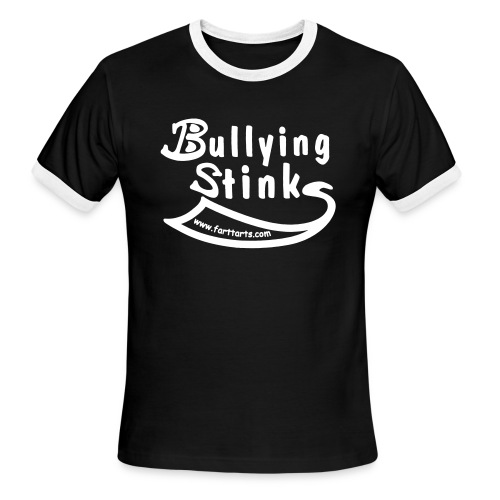 Bullying Stinks! - Men's Ringer T-Shirt