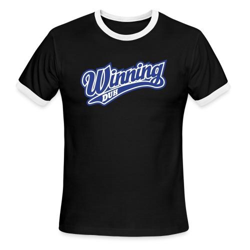 Winning - Men's Ringer T-Shirt