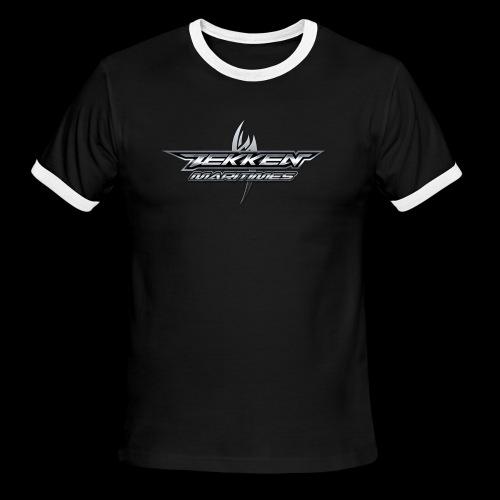 Tekken Maritimes Logo transparent - Men's Ringer T-Shirt