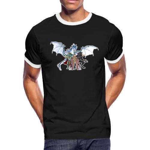 Tainted Blood True Hybrid Mod - Men's Ringer T-Shirt