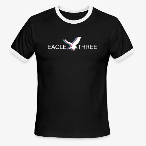 EAGLE THREE APPAREL - Men's Ringer T-Shirt