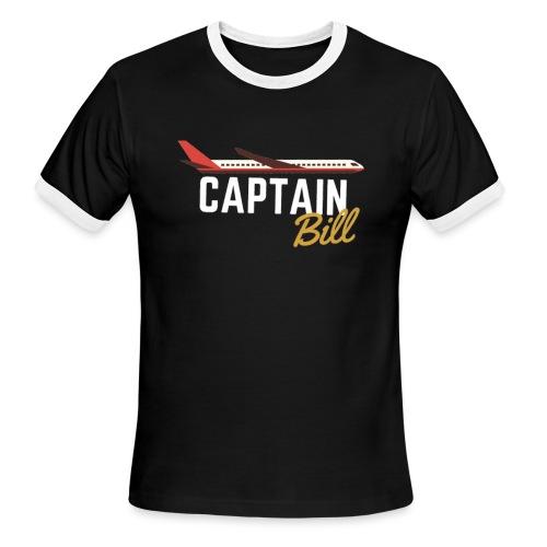 Captain Bill Avaition products - Men's Ringer T-Shirt
