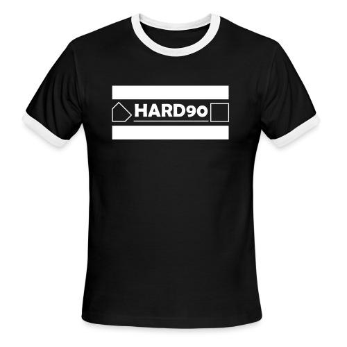 Original Hard 90 Logo - Men's Ringer T-Shirt