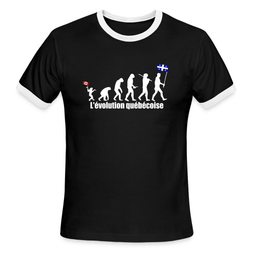 1 - Men's Ringer T-Shirt