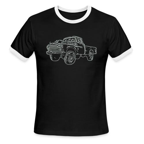 gnarlyTruck - Men's Ringer T-Shirt