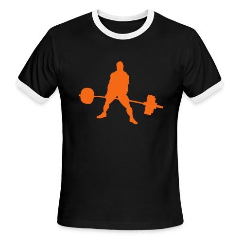 Powerlifting - Men's Ringer T-Shirt
