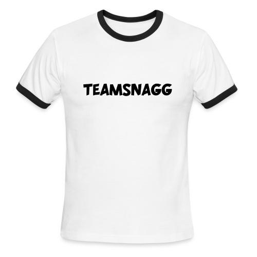 TeamSnagg Logo - Men's Ringer T-Shirt