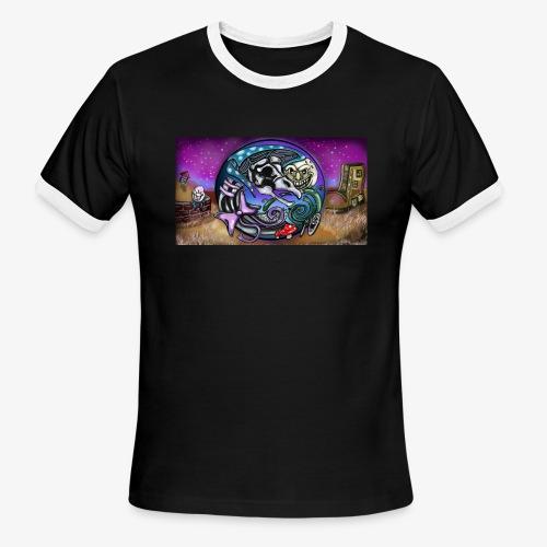 Mother CreepyPasta Land - Men's Ringer T-Shirt