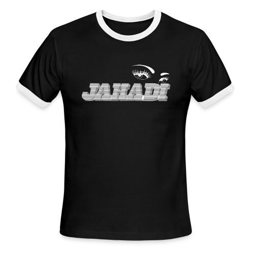 hadilogoWHITE - Men's Ringer T-Shirt