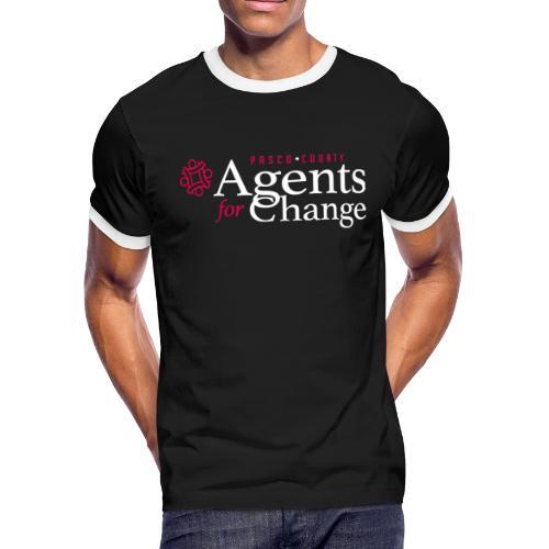 pascoagentsforchange logo - Men's Ringer T-Shirt