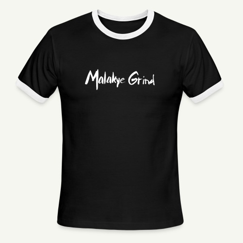 Malakye Grind Rock'n'Roll is Black Series - Men's Ringer T-Shirt