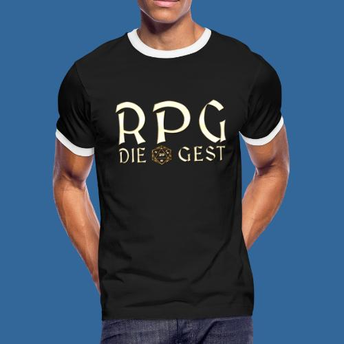 RPG Die Gest - Men's Ringer T-Shirt