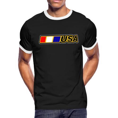 USA - Men's Ringer T-Shirt