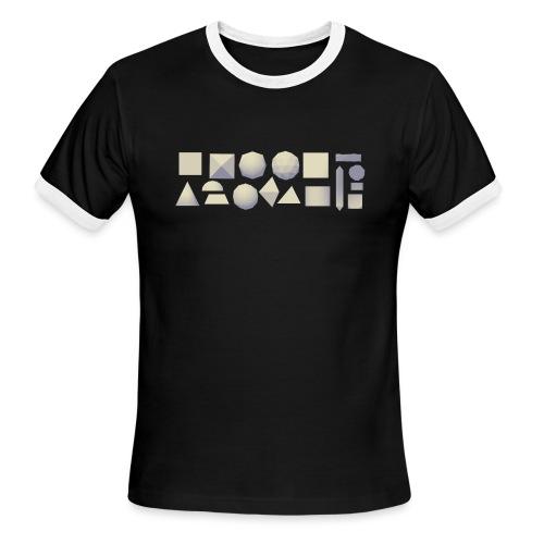 Anyland shapes - Men's Ringer T-Shirt