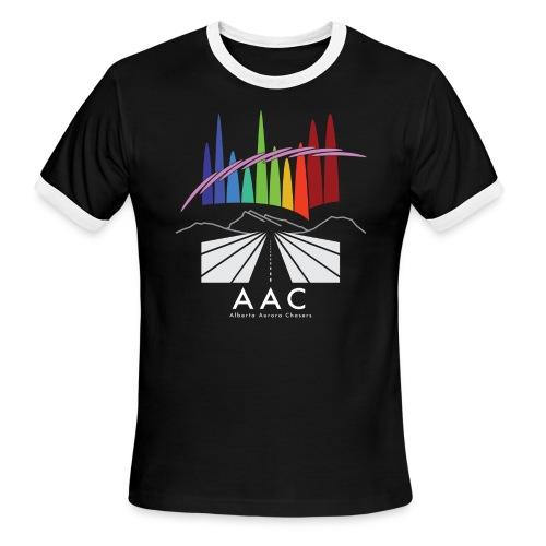 Alberta Aurora Chasers - Men's T-Shirt - Men's Ringer T-Shirt