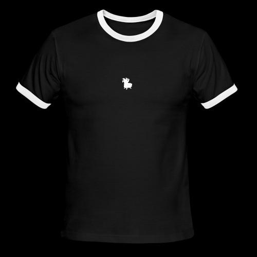 LOOT LLAMA THREE HEADS HYDRA - Men's Ringer T-Shirt