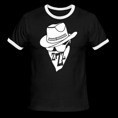 DREAM BANDITS WHITE Large Logo - Men's Ringer T-Shirt