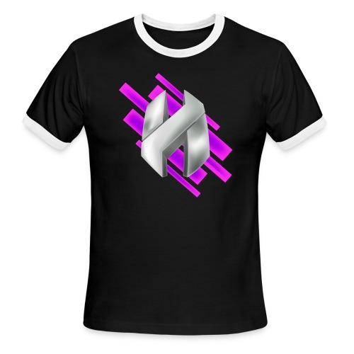 Abstract Purple - Men's Ringer T-Shirt