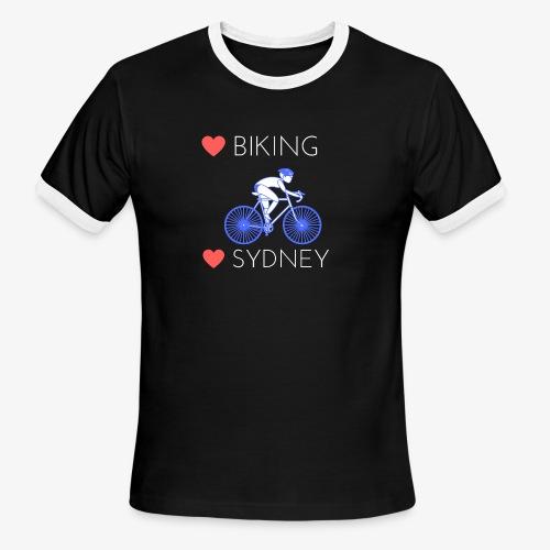 Love Biking Love Sydney tee shirts - Men's Ringer T-Shirt