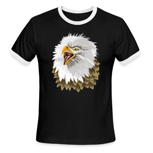 Big, Bold Eagle - Men's Ringer T-Shirt